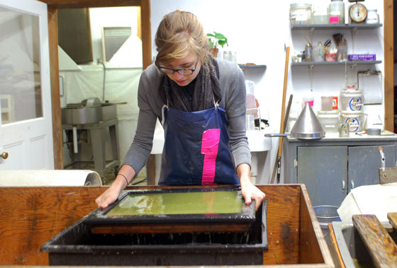WSW papermaking studio
